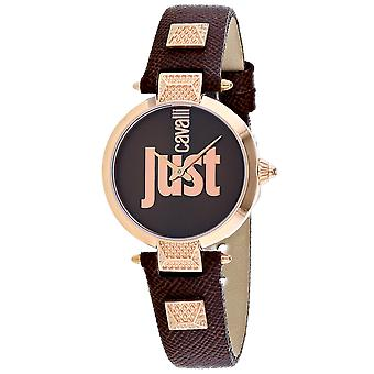 Just Cavalli Mujeres's Just Mio Brown Dial Watch - JC1L076L0045