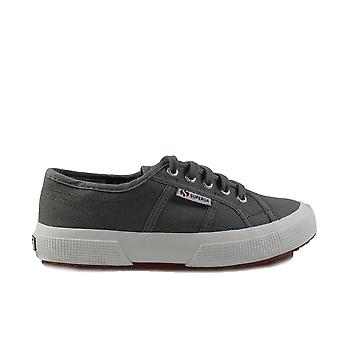 Superga JCOT Classic Canvas Grey Unisex Lace Up Shoes