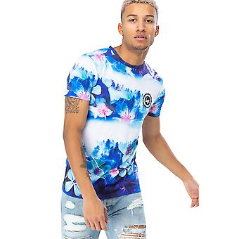 T-shirt Hype Midnight Forest Homme