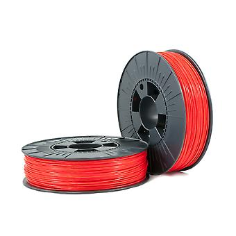 PLA 1,75mm red ca. RAL 3020 0,75kg - 3D Filament Supplies