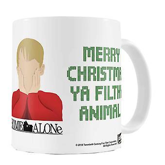 Home Alone Coffee Mug Merry Christmas Ya Filthy Animal new Official White