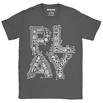 Play classic retro gaming controllers t shirt video games gift idea