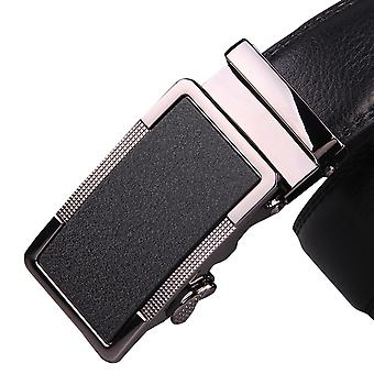 Allthemen man high-grade matte-Feeling Business Alloy automatische-Buckle lederen riem