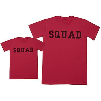 SQUAD - Kid's Gift Set with Kid's T-Shirt & Father's T-Shirt