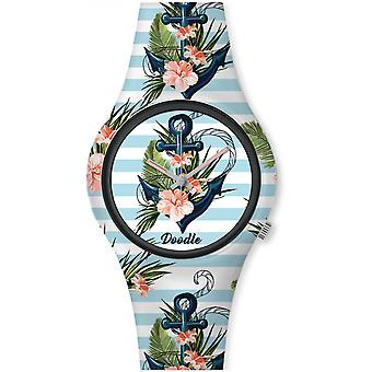 Watch Doodle GRAPHICS MOOD DO35007 - watch ink 35mm male/female