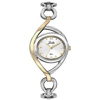 Sjekk Certus 634016-JOALIA Steel Bicolore sølv og dor Cadran White Women