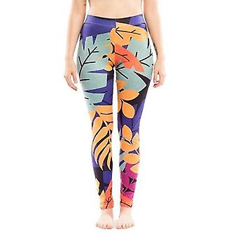 Flora pattern legging