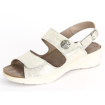 Solidus Gina 001 24001 20276 Platino Marley 2400120276 universal summer women shoes