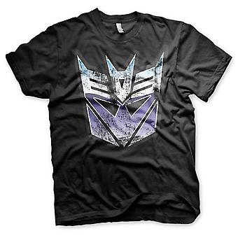 Transformers Megatron Decepticon Logo Official T-Shirt