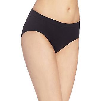 Bali Women's Comfort Revolution Hipster Panty, Black, 6/7