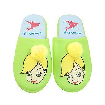 Disney Peter Pan Tinkerbell Fairy Partial 3D Women's Novelty Slippers