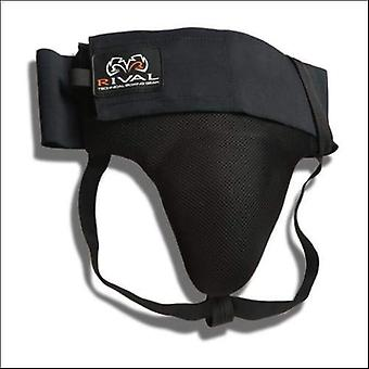 Rival no foul groin guard protector - black