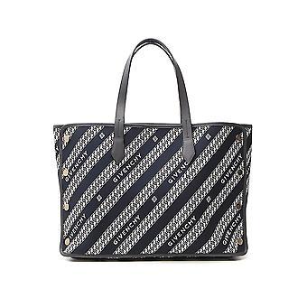 Givenchy Bb50avb00404 Femmes(s Blue Polyester Tote)