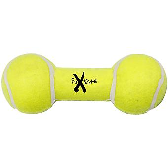 Ferribiella Tennis Dumbbell W/Squacker S (Dogs , Toys & Sport , Chew Toys)