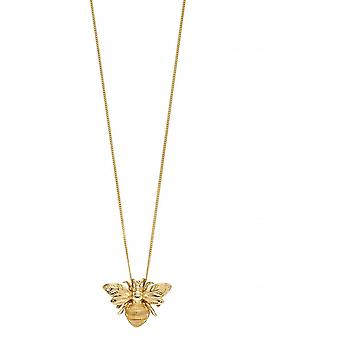 Elements Gold 9ct Yellow Gold Bee Pendant GP2151