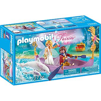 Playmobil 70000 Periler Romantik Peri Teknesi 27PC Playset