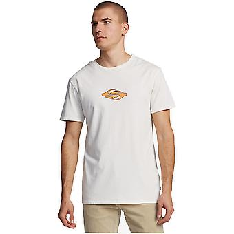 Quiksilver Either Way Short Sleeve T-Shirt en blanche-neige