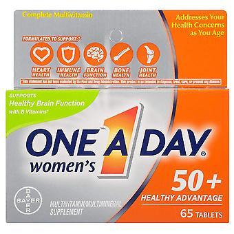 One a day women's 50+ advantage, tablets, 65 ea