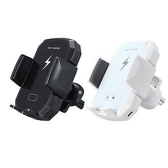 2 Farbe drahtlose Ladegerät Laden Auto Telefon Halter Infrarot-Sensor-Halterung für Mobiltelefon