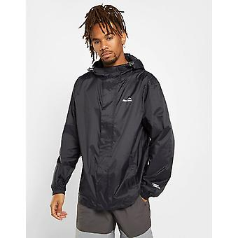 New Peter Storm Men's Packable Water-Resistant Jacket Black