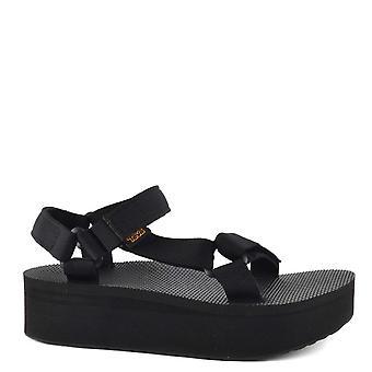 Teva Flatform Universal Schwarze Sandale