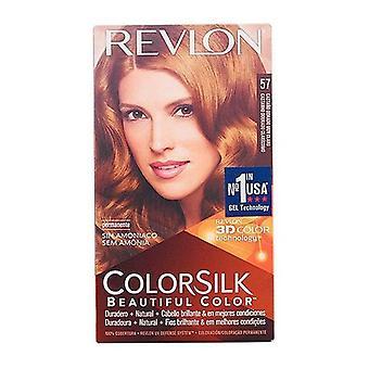 Colorant fără amoniu Culoaremătase Revlon Castan auriu foarte deschis