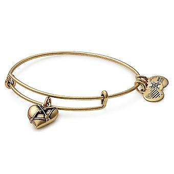 Alex și ani Cupids Heart Charm Bangle-A17EB02RG