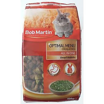Bob Martin New Optimal Menu Croquettes All in One (Small pets , Dry Food and Mixtures)