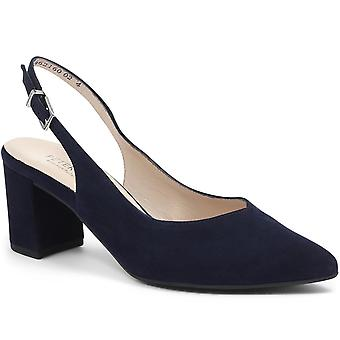 Peter Kaiser Womens Nexy Leather Sling-Back Court Shoe