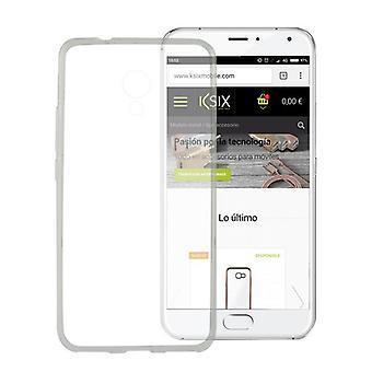 Mobile kansi Meizu M5s KSIX Flex TPU läpinäkyvä