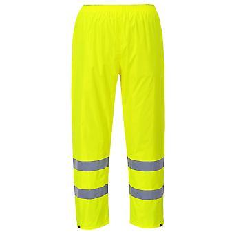 Portwest hi-vis rain trousers h441