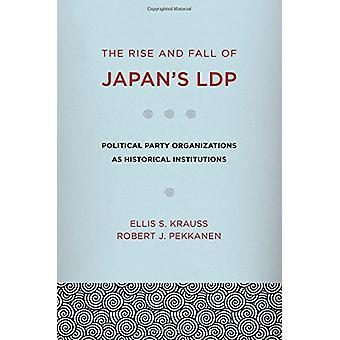 Uppgång och Fall av Japans LDP - politiska part organisationer som Hej