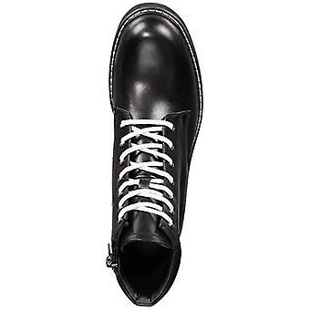 INC International Concepts Men's Ivan Lace-Up Boots (Schwarz, 12)