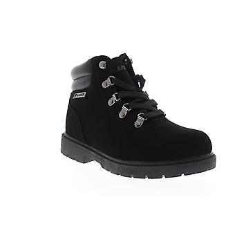 Lugz Lynnwood Mid  Mens Black Nubuck Casual Dress Lace Up Boots Shoes
