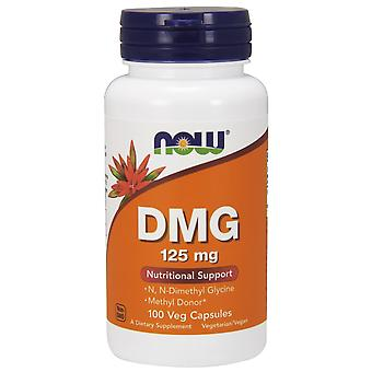 Now Foods DMG 125 mg 100 Vegetable Capsules