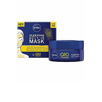 Nivea Q10 Power Sleeping Melt in Mask for your Face 50ml for Face, Neck