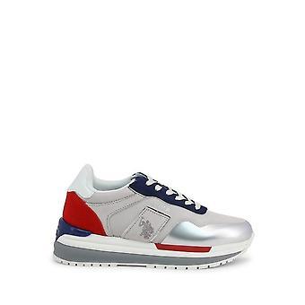 U.S. Polo Assn. - Shoes - Sneakers - CHER4195S0-SY1-WHI-BLU - Women - darkgray,silver - EU 35