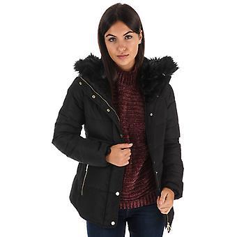 Women's Elle Zoe Down Jacket in Black