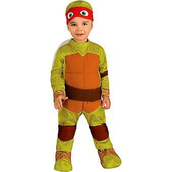 TMNT Raphael småbarn dräkt