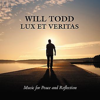 Todd/Tenebrae/English Chamber Orch/Short - Lux Et Veritas-Music for Peace & Reflection [CD] USA import