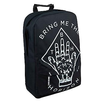 Bring Me The Horizon Backpack Bag Hand Band Logo new Official Black