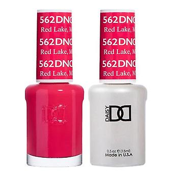 DND Duo Gel & Nail Polish Set - Red Lake MN 562 - 2x15ml