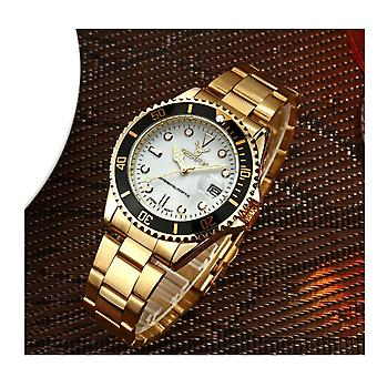 Genuine Deerfun Homage Watch Black Red White Date Watches Top Quality Design