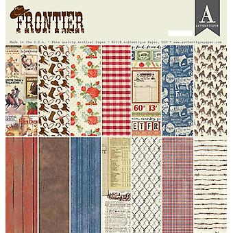 Authentique Frontier 12x12 Inch Paper Pad