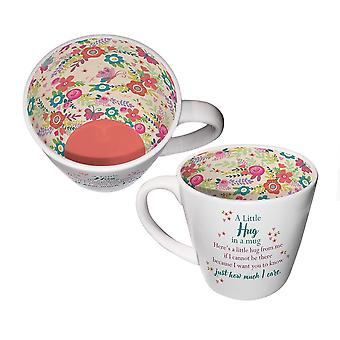 Two Up Two Down Inside Out Mug - A Little Hug In A Mug