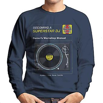 Haynes Superstar DJ Owners Workshop Manual Men's Sweatshirt