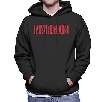 Narcos Block Logo Men's Hooded Sweatshirt