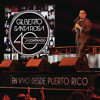 40 Y Contando (En Vivo Desde Puerto Rico) [CD] USA import
