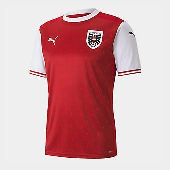 Puma Oostenrijk 2020 Home Voetbalshirt