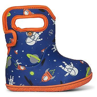 Bogs Boys Baby Bogs Spaceman Blue